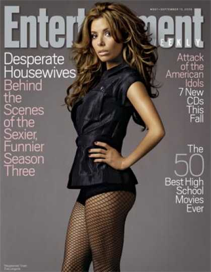 "Entertainment Weekly - ""desperate Housewives"": Sexier. Funnier. Better?"