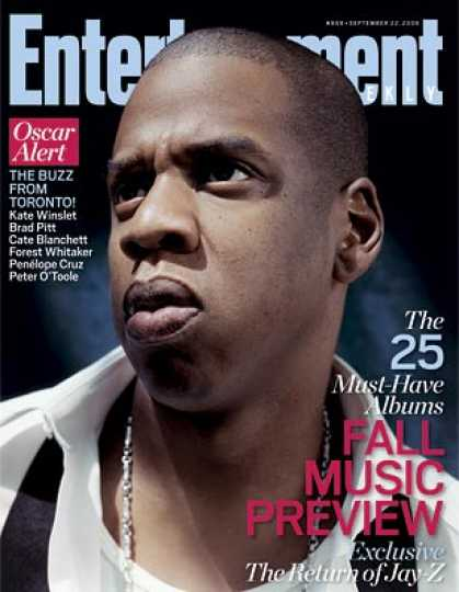 Entertainment Weekly - Jay-z Exclusive! the World's Most Powerful Rapper Returns