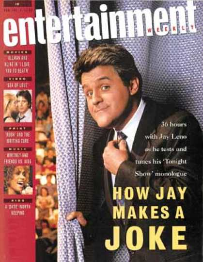 Entertainment Weekly - How Jay Leno Writes His Monologues