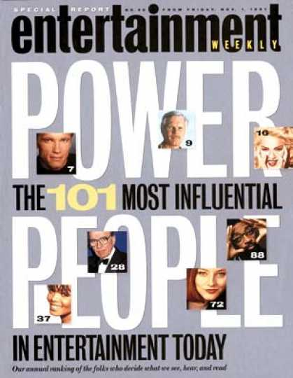 Entertainment Weekly - Power 101: 1-25