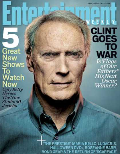 "Entertainment Weekly - ""flags of Our Fathers"": Clint's Next Oscar Winner?"