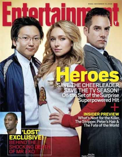 "Entertainment Weekly - ""heroes"": On Set of the Hit That's Saving the Tv Season"