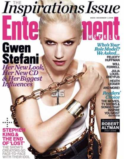 Entertainment Weekly - Gwen Stefani On Her Music, Her Style, and More