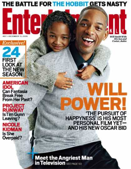 Entertainment Weekly - Will Smith's Pursuit of 'happyness' May Lead To Oscar