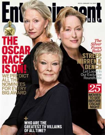 Entertainment Weekly - Exclusive: Streep, Mirren, and Dench Meet Up, Let Loose
