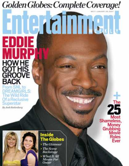 Entertainment Weekly - How Eddie Murphy Got His Groove Back