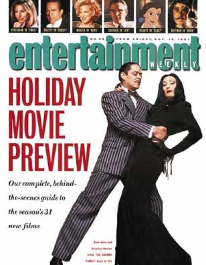 Entertainment Weekly - Buh Duh Duh Dum (snap, Snap) They're Creepy and They're Kooky. and Now Thry're