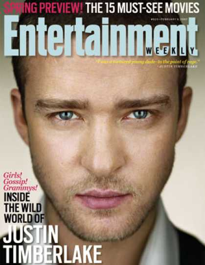 Entertainment Weekly - Inside the Wild World of Justin Timberlake