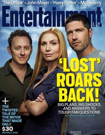 "Entertainment Weekly - ""lost"" Roars Back! See Where Season 3 Goes From Here"