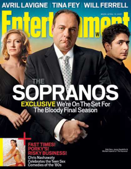 "Entertainment Weekly - ""sopranos"": Where They Left Off, Where They're Going"