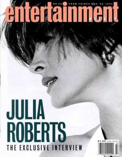 Entertainment Weekly - Julia Roberts the Price of Fame