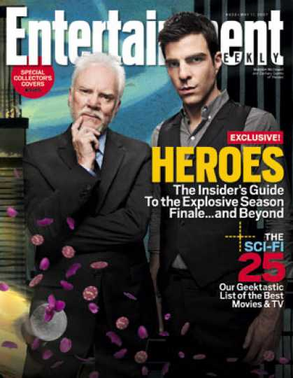 "Entertainment Weekly - Behind the Scenes At ""heroes""' Shocking Season Finale"