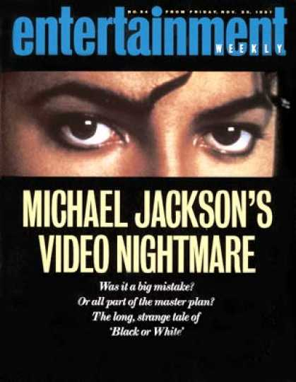 Entertainment Weekly - Michael Jackson's Black Or White Blues