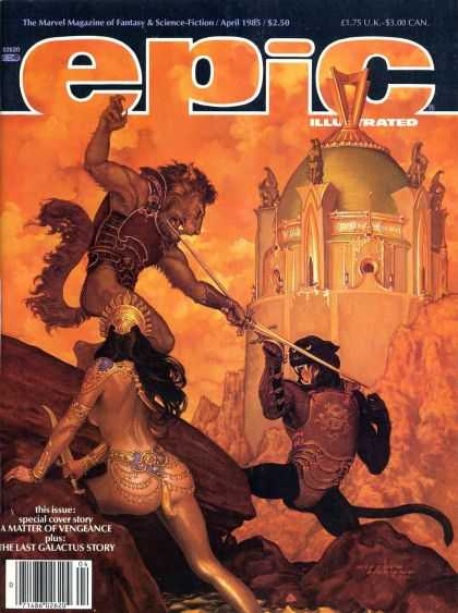 Epic 29 - Palace - Sword - Illustrated - April 1985 - 250