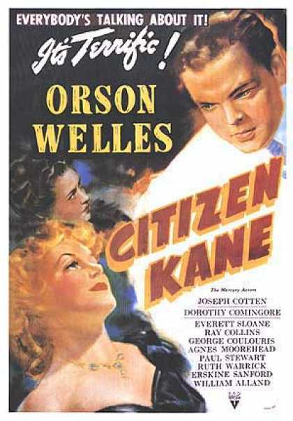Essential Movies - Citizen Kane Poster