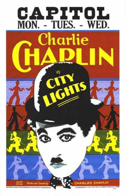 Essential Movies - City Lights Poster