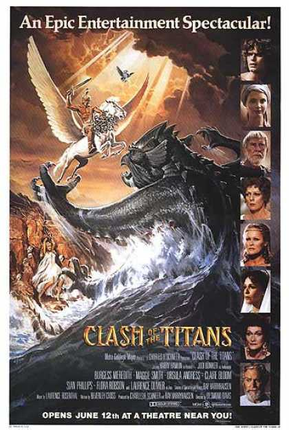 Essential Movies - Clash Of The Titans Poster