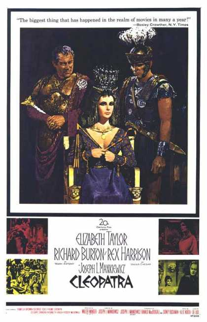 Essential Movies - Cleopatra (1963) Poster