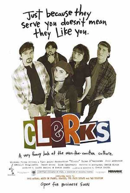Essential Movies - Clerks Poster