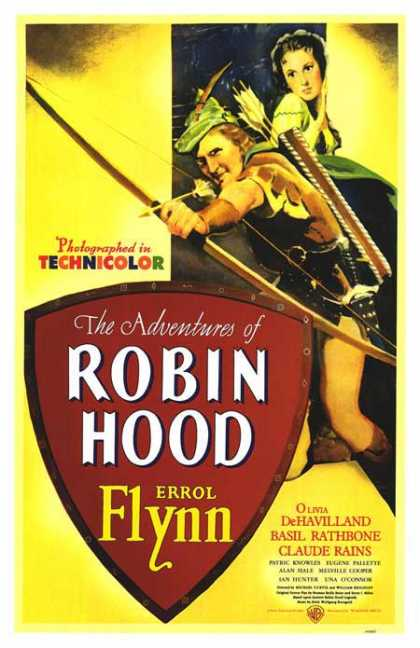 Essential Movies - Adventures Of Robin Hood Poster