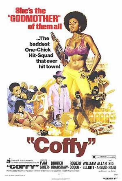 Essential Movies - Coffy Poster