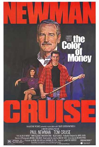 Essential Movies - Color Of Money Poster