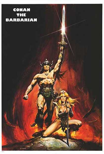 Essential Movies - Conan The Barbarian Poster