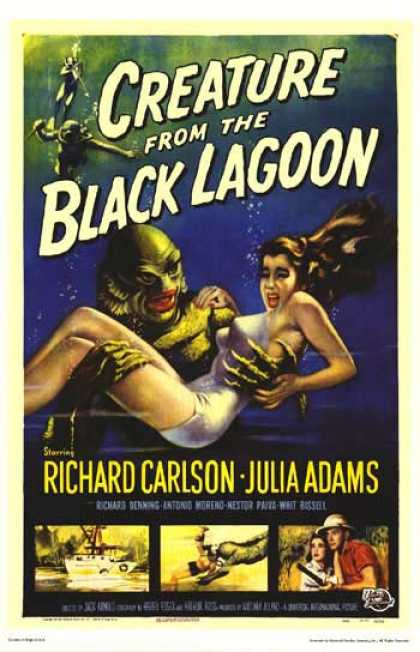 Essential Movies - Creature From The Black Lagoon Poster