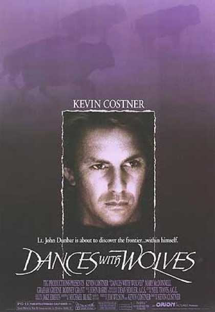 Essential Movies - Dances With Wolves Poster