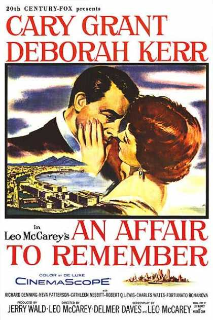 Essential Movies - Affair To Remember Poster