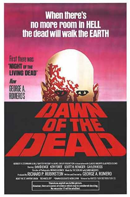 Essential Movies - Dawn Of The Dead Poster