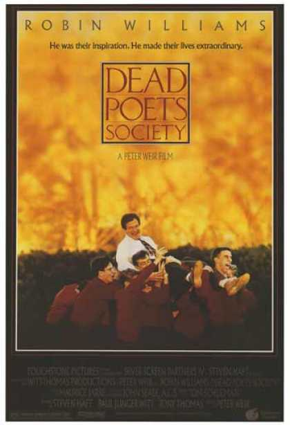 Essential Movies - Dead Poets Society Poster