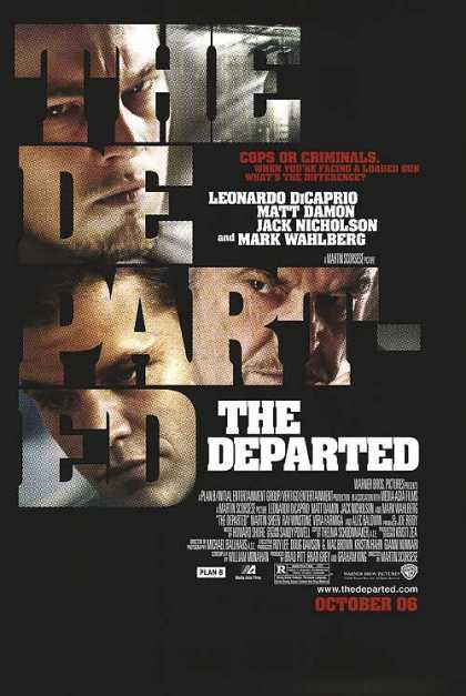 Essential Movies - Departed Poster