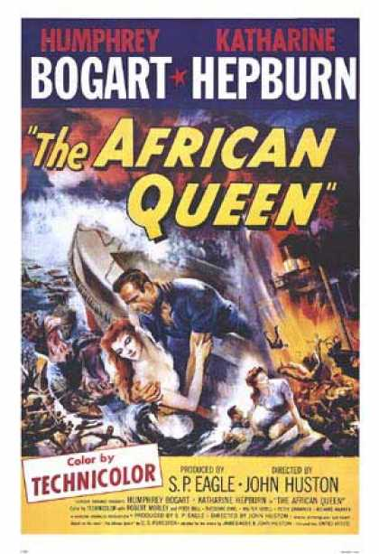 Essential Movies - African Queen Poster