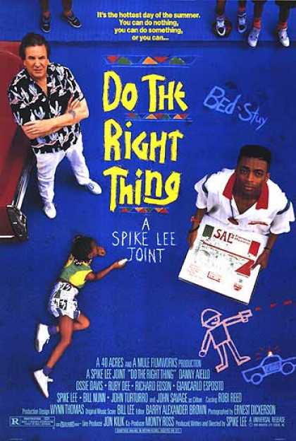 Essential Movies - Do The Right Thing Poster