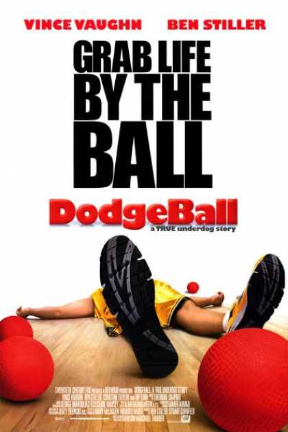 Essential Movies - Dodgeball Poster