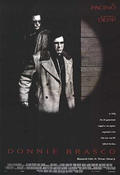 Essential Movies - Donnie Brasco Poster