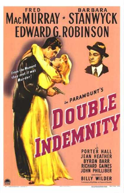 Essential Movies - Double Indemnity Poster