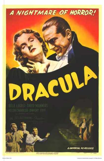 Essential Movies - Dracula Poster