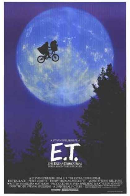 Essential Movies - E.t. The Extra-terrestrial Poster