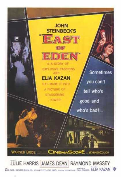 Essential Movies - East Of Eden Poster