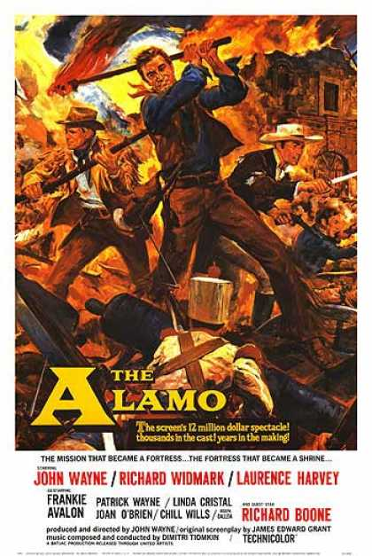Essential Movies - Alamo Poster