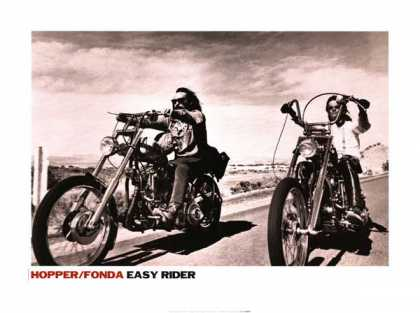 Essential Movies - Easy Rider Poster