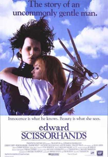 Essential Movies - Edward Scissorhands Poster