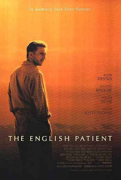 Essential Movies - English Patient Poster