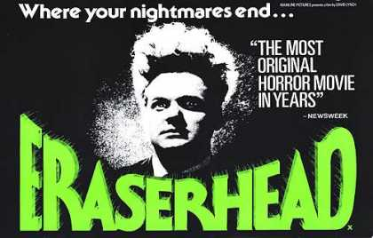 Essential Movies - Eraserhead Poster