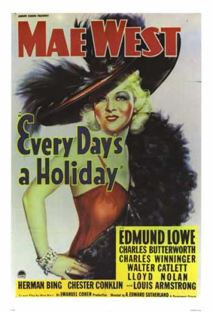 Essential Movies - Every Day's A Holiday Poster