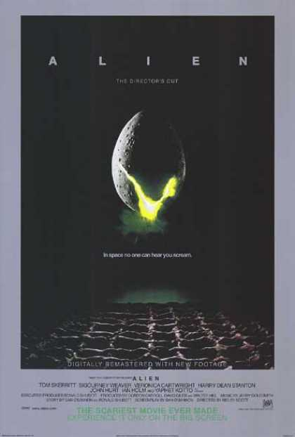 Essential Movies - Alien Poster