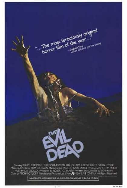 Essential Movies - Evil Dead Poster