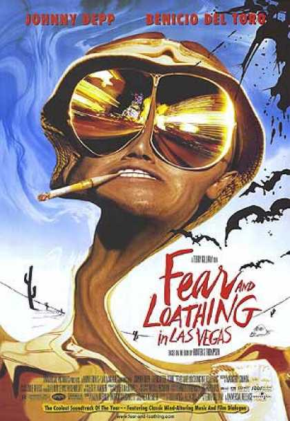 Essential Movies - Fear And Loathing In Las Vegas Poster